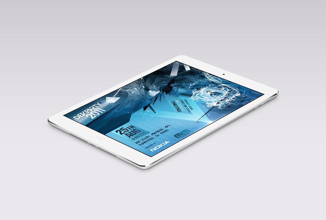 02-Isometric-iPad-Air-Dev-Party