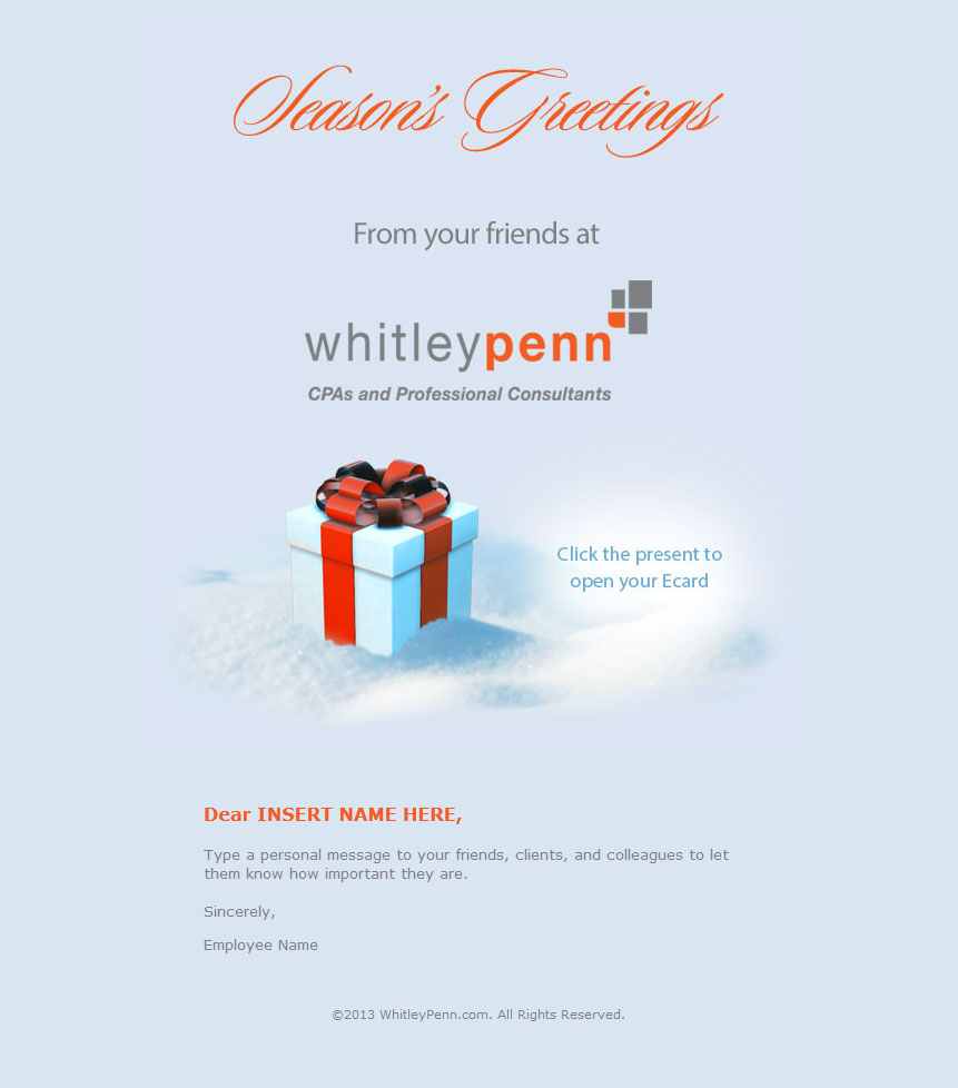 Ecard HTML Email
