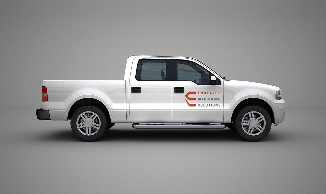 endeavor-machining-truck-logo