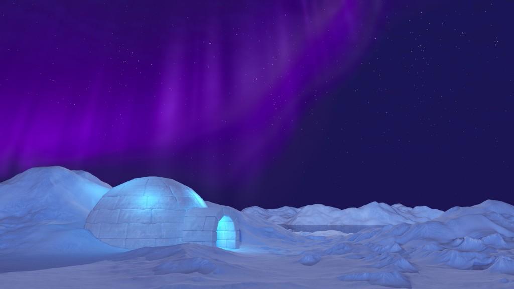 Northern Lights Ecard