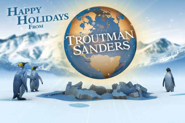 Troutman Sanders Penguin Holiday Ecard