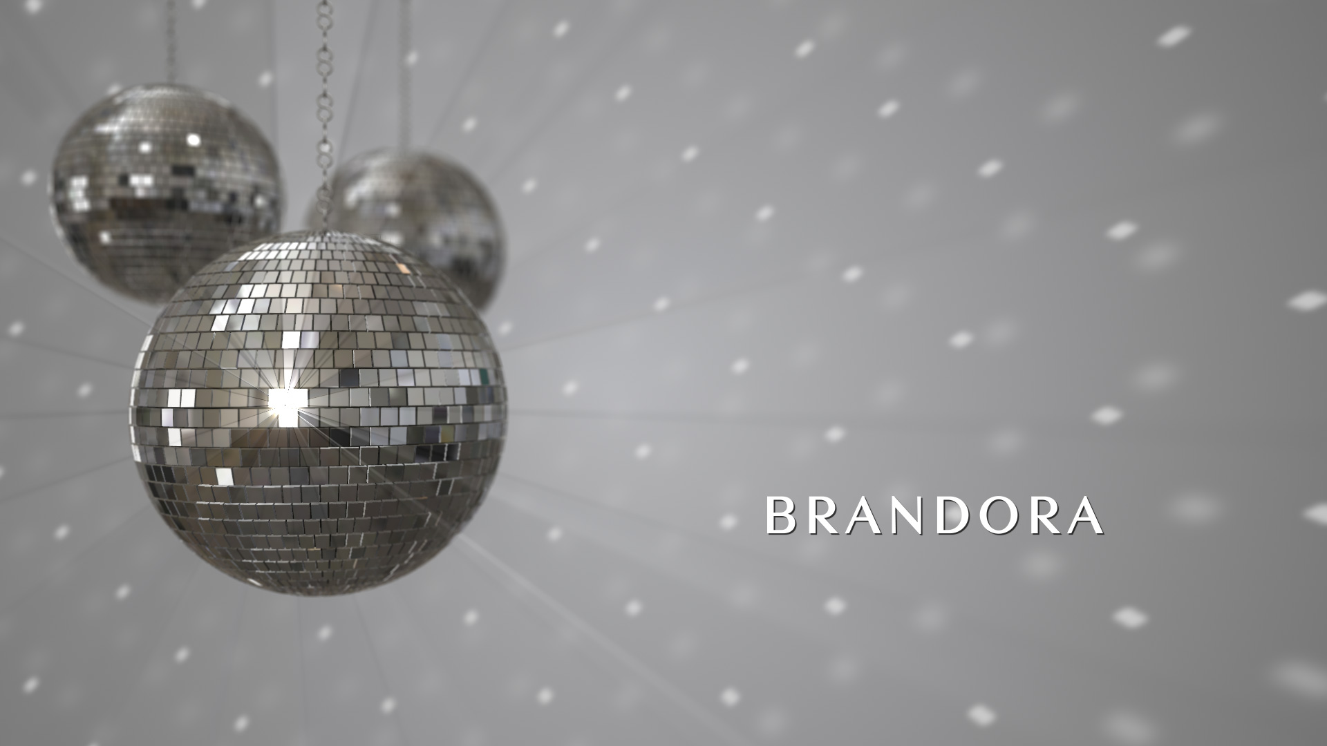 New Year Disco Balls Holiday Ecard