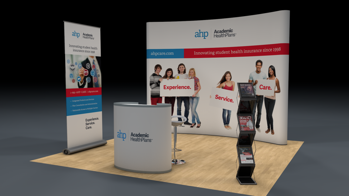 AHP Tradeshow Booth